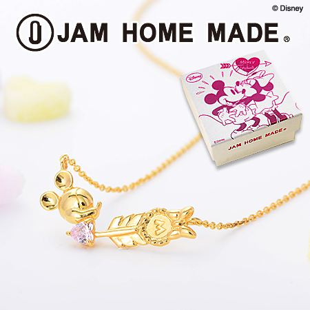 JAM HOME MADE別注ミニーネックレス