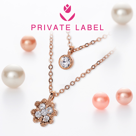 PRIVATE LABEL2連ネックレス