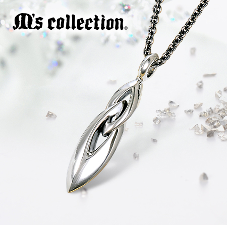 M's collection シルバーネックレス