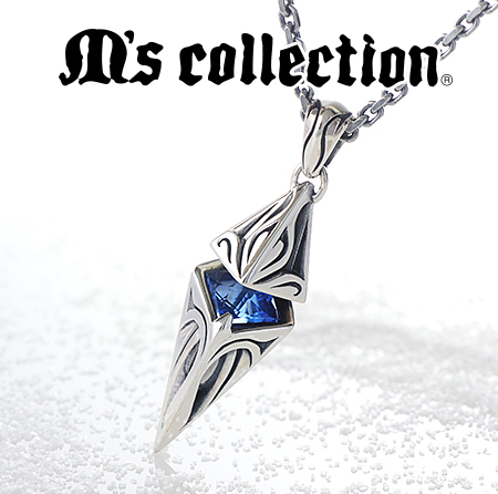 M's collectionロングヒットネックレス